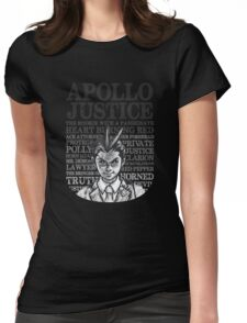 The Many Titles of Apollo Justice Womens Fitted T-Shirt