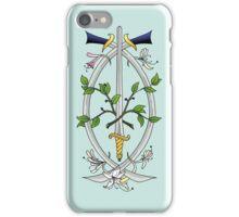 Three of Swords iPhone Case/Skin