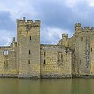 Bodiam Castle (Panorama) by Ludwig Wagner