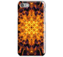 Energetic Geometry - Abstract Solar Power Symbol iPhone Case/Skin