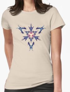 Energetic Geometry - Cybernetic Synaptic Control Theorem Womens Fitted T-Shirt