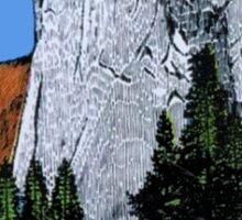 El Capitan Yosemite National Park California Vintage Travel Decal Sticker