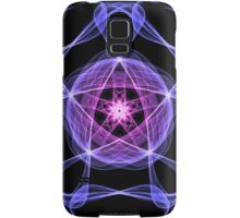 Energetic Geometry – Healing Star Flower of Harmonic Resonance -.. Samsung Galaxy Case/Skin