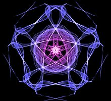 Energetic Geometry – Healing Star Flower of Harmonic Resonance -.. by Leah McNeir