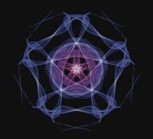 Energetic Geometry – Healing Star Flower of Harmonic Resonance -.. One Piece - Long Sleeve