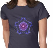 Energetic Geometry – Healing Star Flower of Harmonic Resonance -.. Womens Fitted T-Shirt