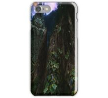 Ominous Statue in the woods iPhone Case/Skin