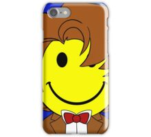 Happy Dr. Who Face iPhone Case/Skin