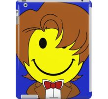 Happy Dr. Who Face iPad Case/Skin