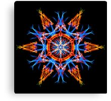 Energetic Geometry - Crystalline Creativity  Canvas Print