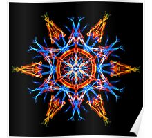 Energetic Geometry - Crystalline Creativity  Poster