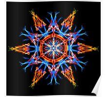 Energetic Geometry - Crystalline Creativity  Poster