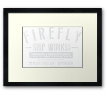 Firefly Shipworks, LTD Framed Print