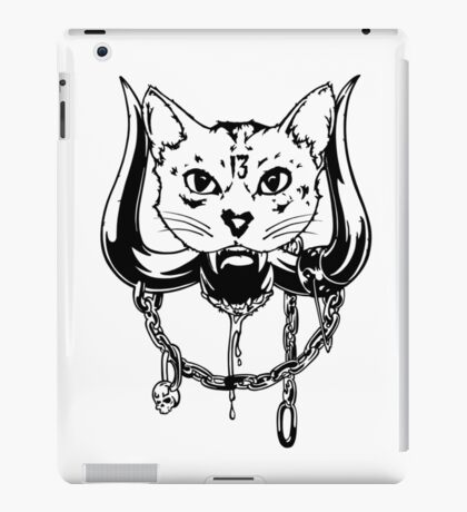 The Head Of The Cat iPad Case/Skin