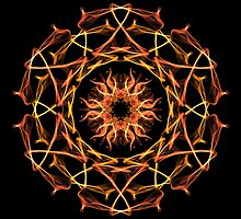 Energetic Geometry - Solar Blessing by Leah McNeir