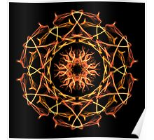 Energetic Geometry - Solar Blessing Poster