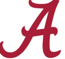 University of Alabama  Sticker
