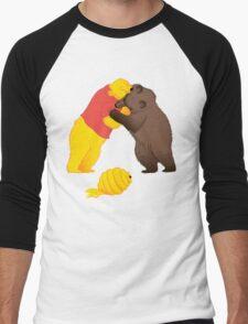 Battle for resources Men's Baseball ¾ T-Shirt