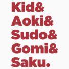 Japanese MMA Legends by bammydfbb