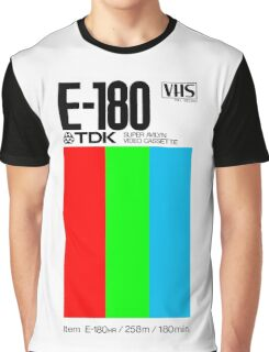 VHS Tape Retro Graphic T-Shirt