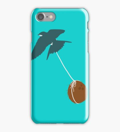 Swallow that coconut iPhone Case/Skin