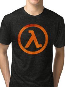 °GEEK° Half Life Rust Logo Tri-blend T-Shirt