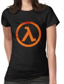 °GEEK° Half Life Rust Logo Womens Fitted T-Shirt