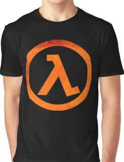 °GEEK° Half Life Rust Logo Graphic T-Shirt