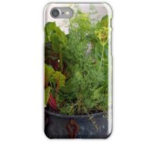 The Edible Container Garden iPhone Case/Skin