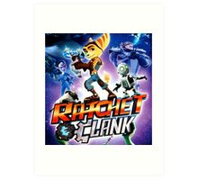 RATCHET CLANK RAB 2 Art Print
