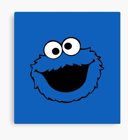 cookies monster Canvas Print