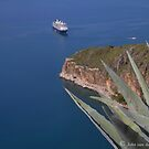 Ship docks in Nafplio ..Greece's old Capital (see previous photo) by John44