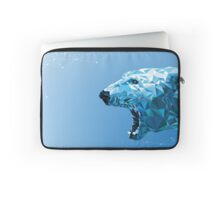 Ice bear polygon design Laptop Sleeve