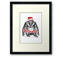 Harambe - the only wish Framed Print