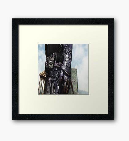 The Devil is in the Details 2 Framed Print