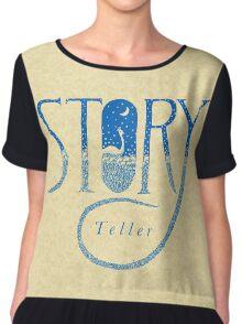 Story Teller Women's Chiffon Top