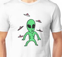 lil green man Unisex T-Shirt