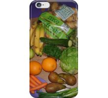 fruit & veg - 5 a day iPhone Case/Skin