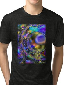 Psychedelic Tunnel Tri-blend T-Shirt