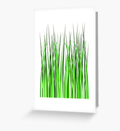 Grass, Gardening Greeting Card
