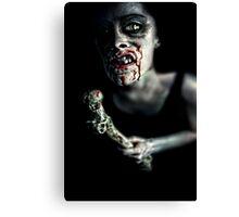 zombie Canvas Print