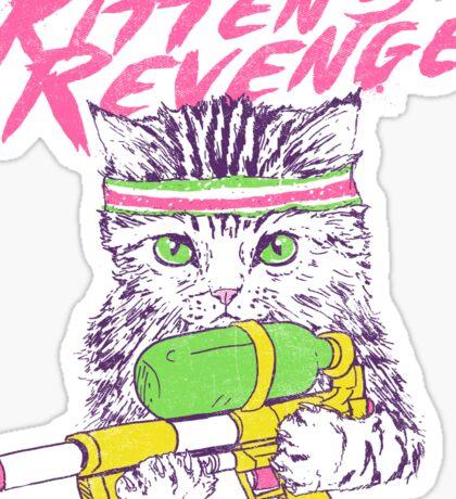 Kitten's Revenge Sticker