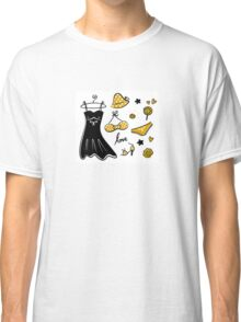 Old - yellow designers fashion for woman. Art is original hand-drawn Classic T-Shirt