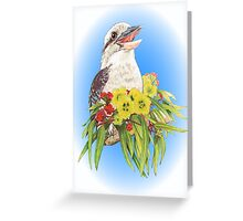Kinta and Illyarrie blossom & leaves Greeting Card