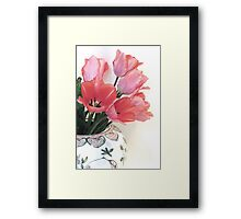 Gathered Tulips Framed Print