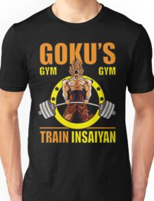 Goku's Gym - Deadlift Logo Unisex T-Shirt