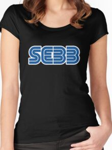 SEBB STRIFE SEGA LOGO Women's Fitted Scoop T-Shirt