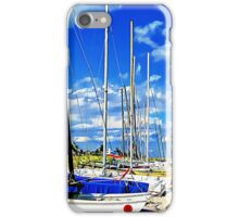 Beached Boats iPhone Case/Skin