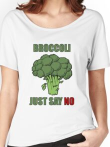 Broccoli: just say no Women's Relaxed Fit T-Shirt
