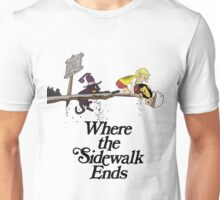 Soul Eater Where the sidewalk ends Unisex T-Shirt